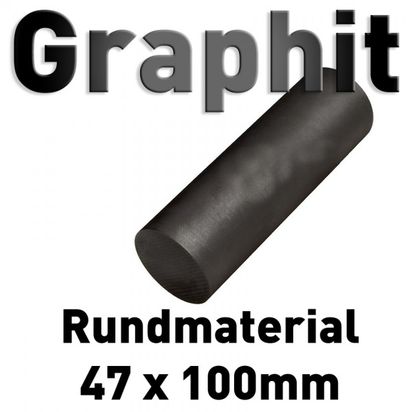 Graphit-Rundmaterial 47 mm