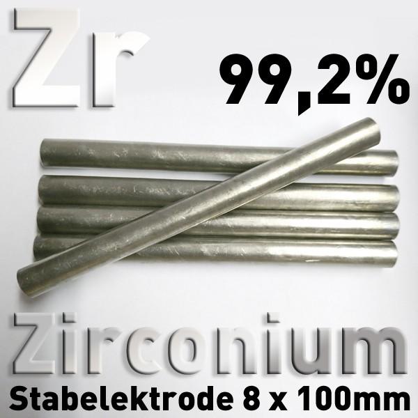 Zirconium-Elektrode 8 mm