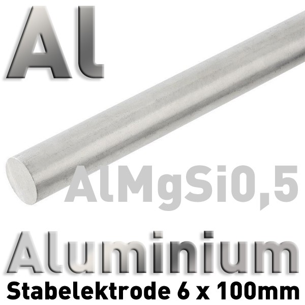 Aluminium-Elektrode 6 mm