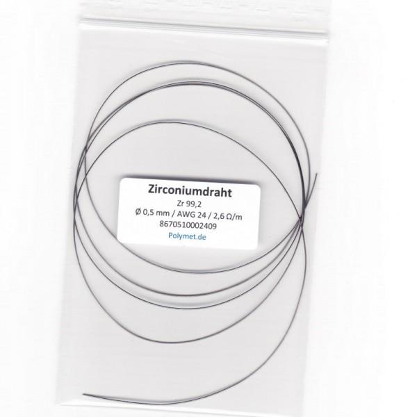 Zirconium-Drahtelektrode