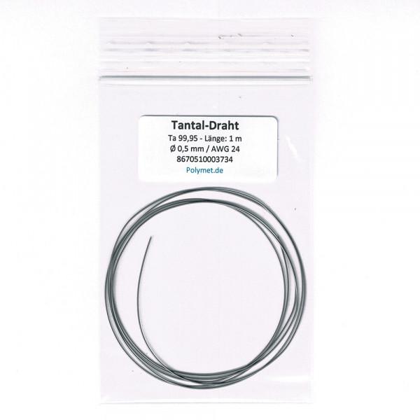 Tantal-Drahtelektrode