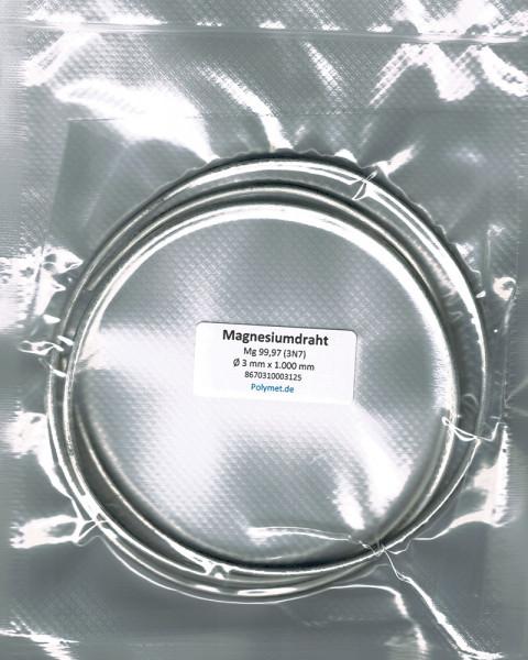 Magnesium-Drahtelektrode 3 mm