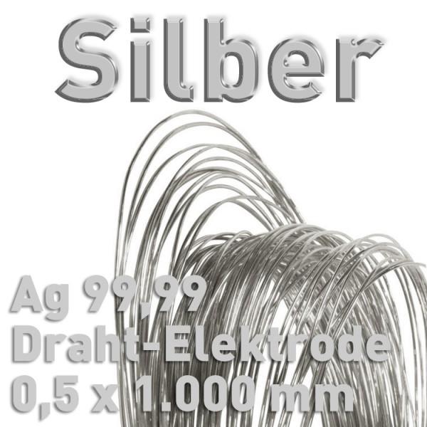 Silber-Drahtelektrode