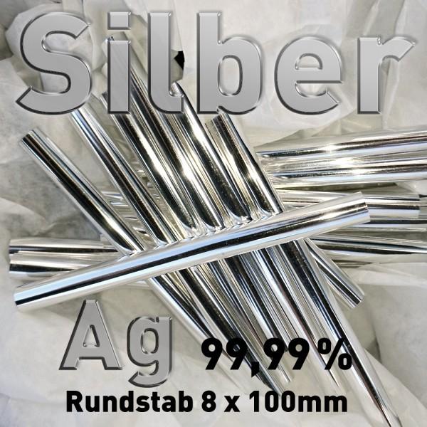 Silber-Elektrode 8 mm