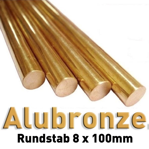 Aluminiumbronze 8 mm