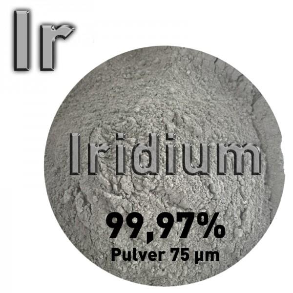 Iridium, 1 g