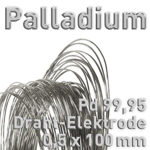 Palladium-Drahtelektrode