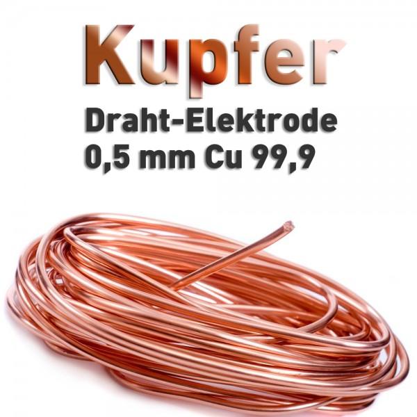 Kupfer-Drahtelektrode