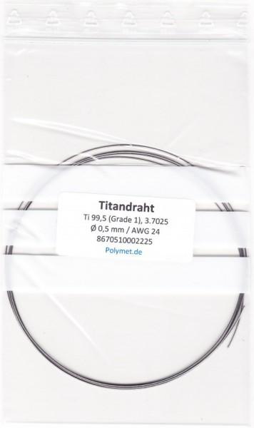Titan-Drahtelektrode