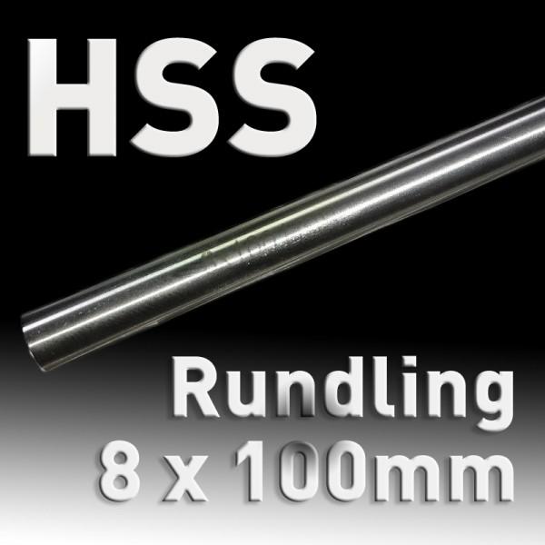 HSS-Rundling 8 mm