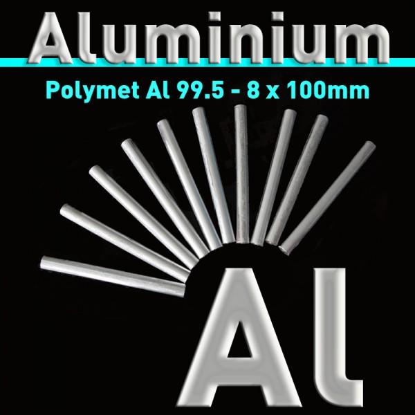 Aluminium-Elektrode 8 mm