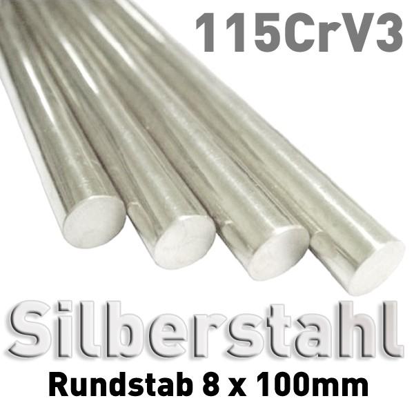 Silberstahl 8 mm