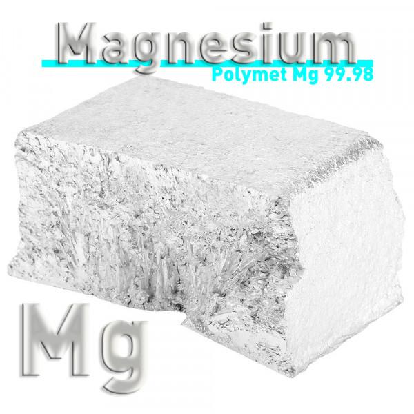 Magnesium in Stücken