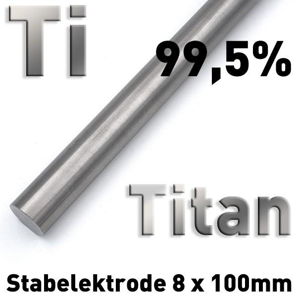Titan-Elektrode 8 mm