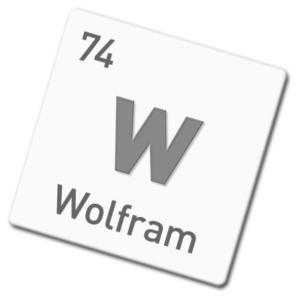 Wolfram-Blech 1 mm