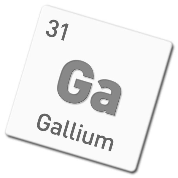 Gallium-Elektrode 8 mm