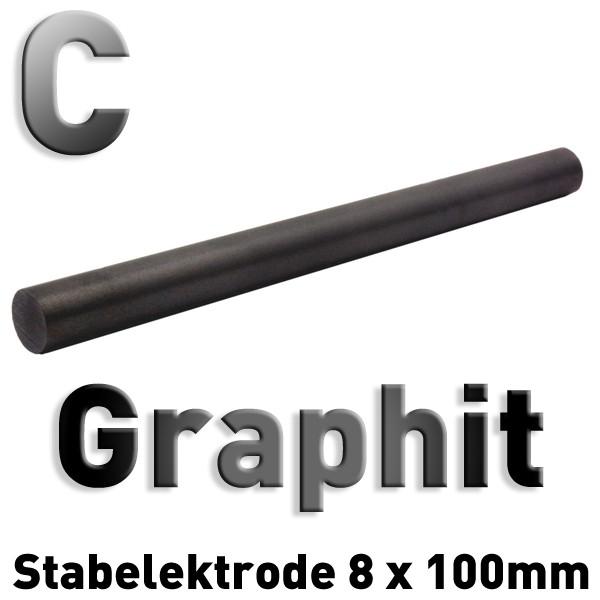 Graphit-Elektrode 8 mm