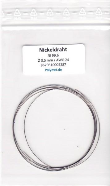 Nickel-Drahtelektrode