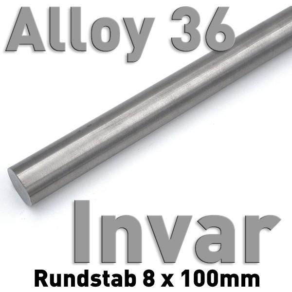 Invar 8 mm