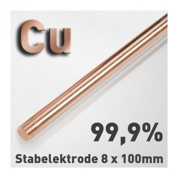 Kupfer-Elektrode 8 mm