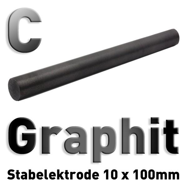 Graphit-Elektrode 10 mm