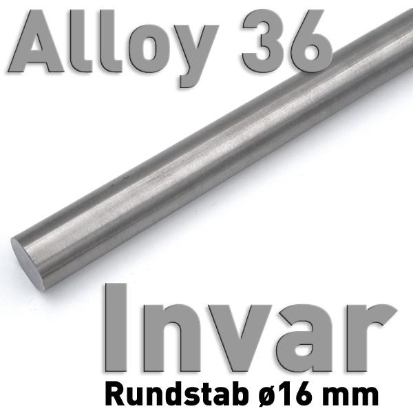Invar 16 mm