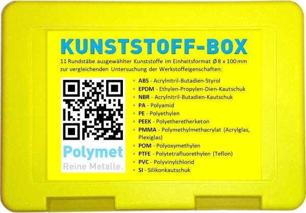 Set Kunststoffe, Rundstäbe 8 x 100 mm
