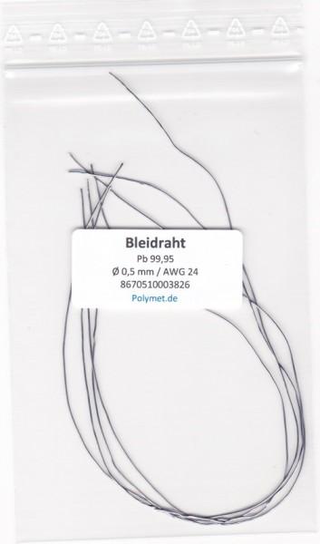Blei-Drahtelektrode