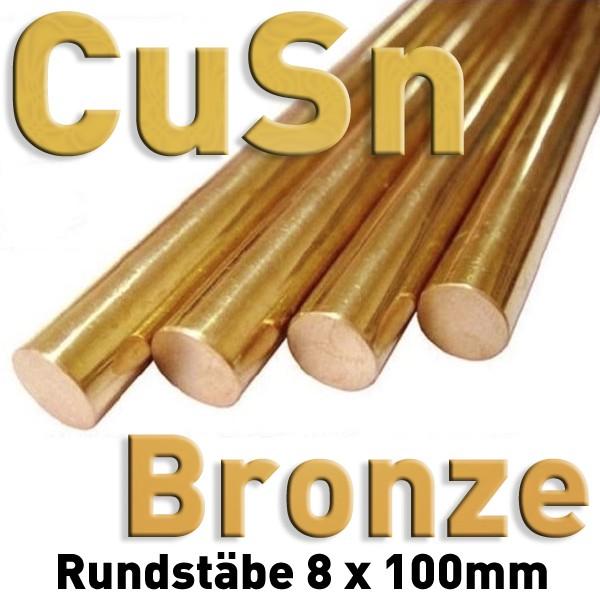 Bronze-Elektrode 8 mm