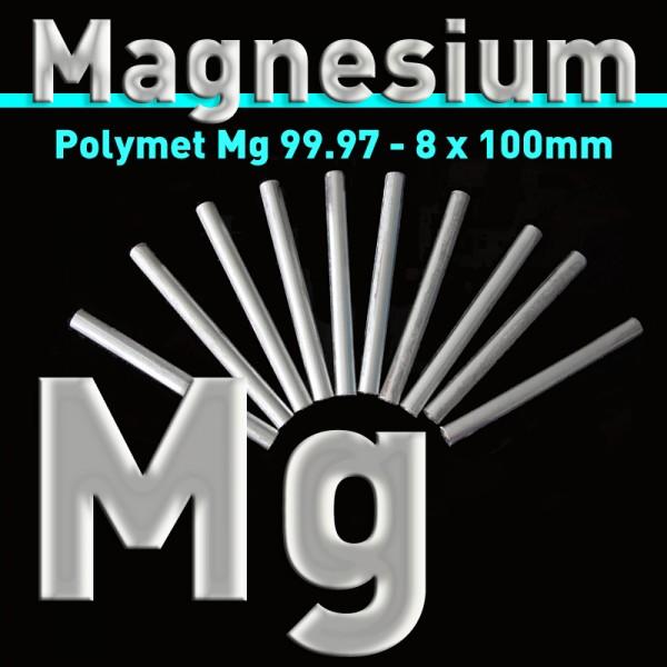 Magnesium-Elektrode 8 mm