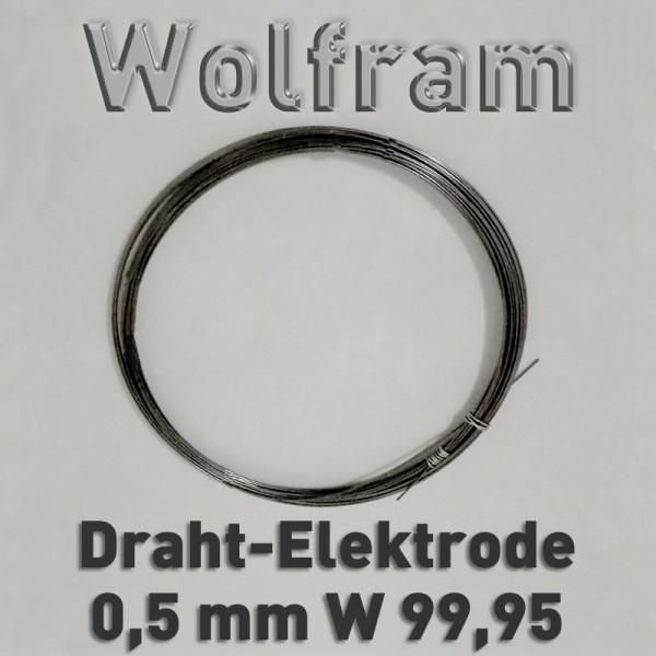 Wolfram-Drahtelektrode