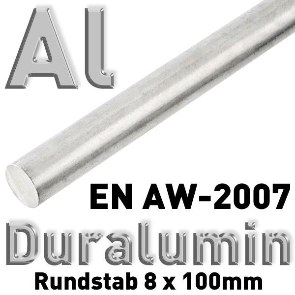 Duraluminium 8 mm