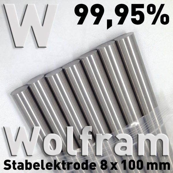 Wolfram-Elektrode 8 mm