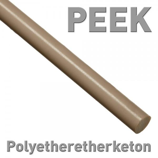 Polyetheretherketon (PEEK), Rundstab 8 x 100 mm
